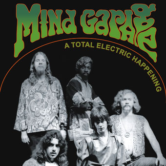 MIND GARAGE - A Total Electric Happening (180g) - LP